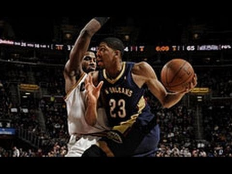 Anthony Davis Rocks Out for 30 Points in Cleveland