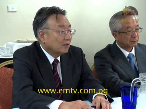 PNG And Japan Sign MOU For Downstream Processing