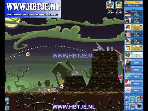 Angry Birds Friends Halloween Tournament Level 4 (tournament 4) no power-ups