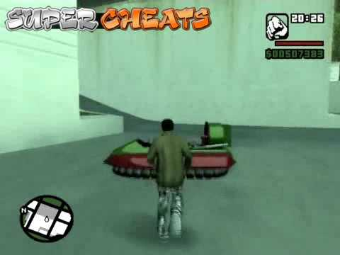 San Andreas Spawn Cheats
