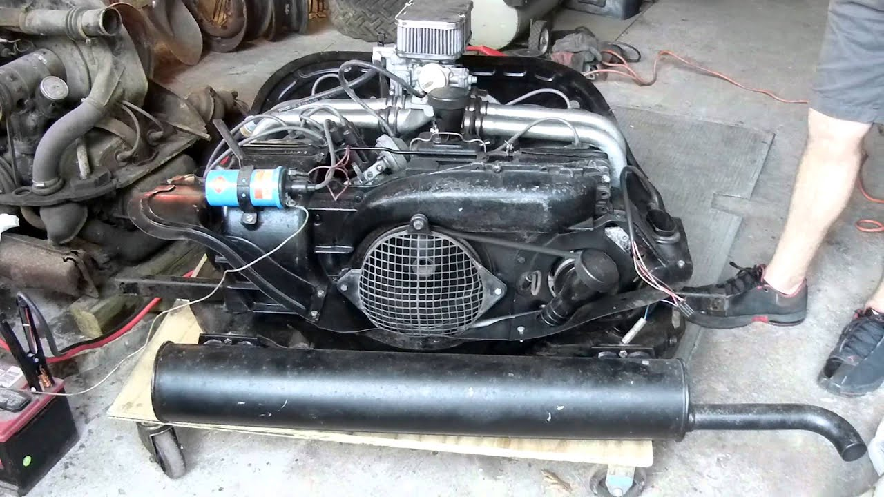 Vw Air Cooled 1700cc Engine Youtube