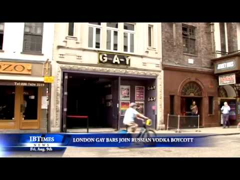 London Gay Bars Join Russian Vodka Boycott