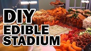 🏈 DIY GIANT Edible Stadium