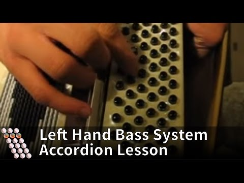 Accordion tutorial - bass system