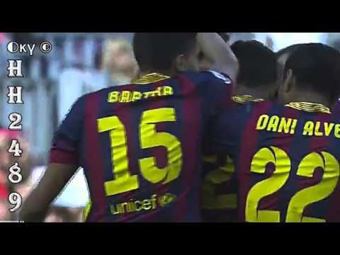 Barcelona vs Getafe 2-1 →GOL ALEXIS Sánchez ← Barcelona 2-1 Getafe ~ Liga BBVA ~ 03-05-2014