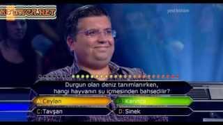 Kim Milyoner Olmak Ister 255. bölüm Ergun Bağcı 30.07.2013