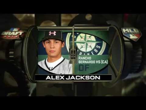 2014 MLB Draft - Seattle Mariners Select OF Alex Jackson