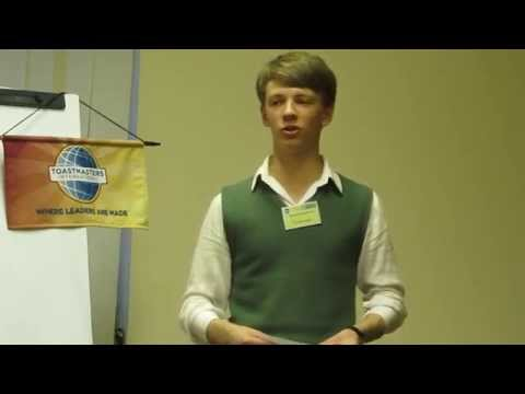 Toastmasters Ukraine English Speaking Club, Kiev 2014: Sasha: Speech at Stage