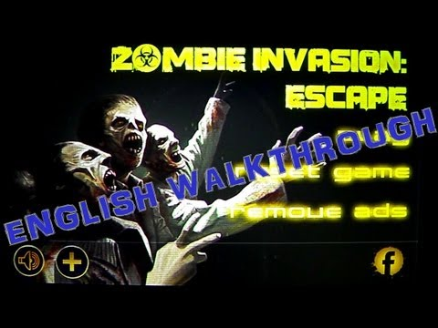 Zombie Invasion: Escape [English Walkthrough]