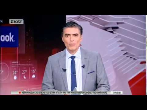 mediasoup.gr - Ο Νίκος Ευαγγελάτος αποχαιρετά τους τηλεθεατές του ΣΚΑΪ