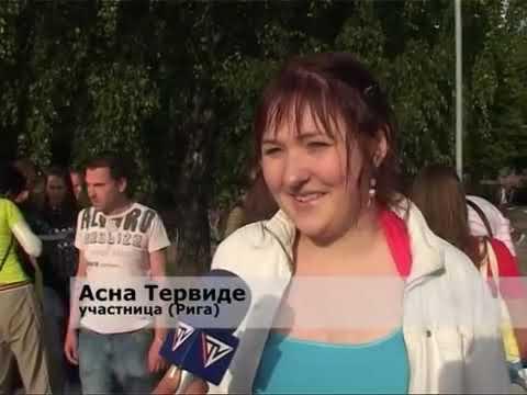 Смотреть видео Чемпионат Латвии по караоке и в Вентспилсе