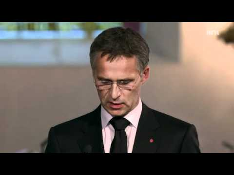Subtitled speech by Prime Minister Jens Stoltenberg to the victims of the 2011 Norway attacks
