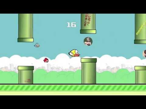 Anh không đòi quà chế Flappy Bird