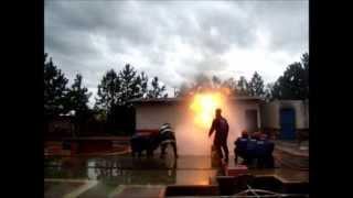 Treinamento e pratica de brigada de incendio   - youtube