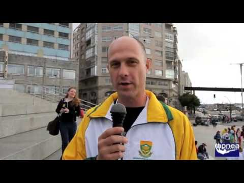 Mondiale Vigo 2012 South Africa Team (original language)