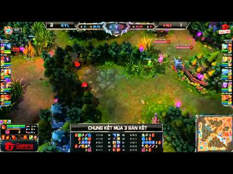 [CK Mùa 3] [Bán kết 2] Fnatic vs Royal HZ [Game 4] [29.09.2013]