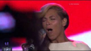 Raw: Beyonce Sings National Anthem Live