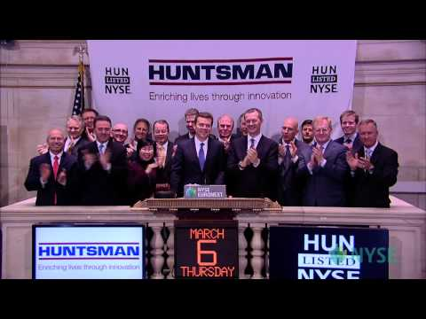 Huntsman Corporation Visits the New York Stock Exchange