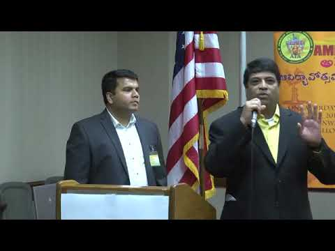 Raghuveer M- American Telangana Association Launch