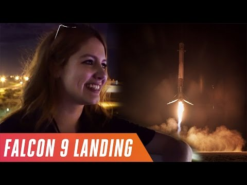 Watching SpaceX land a Falcon 9 rocket