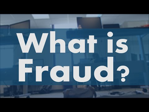 What is Fraud? - CAP3