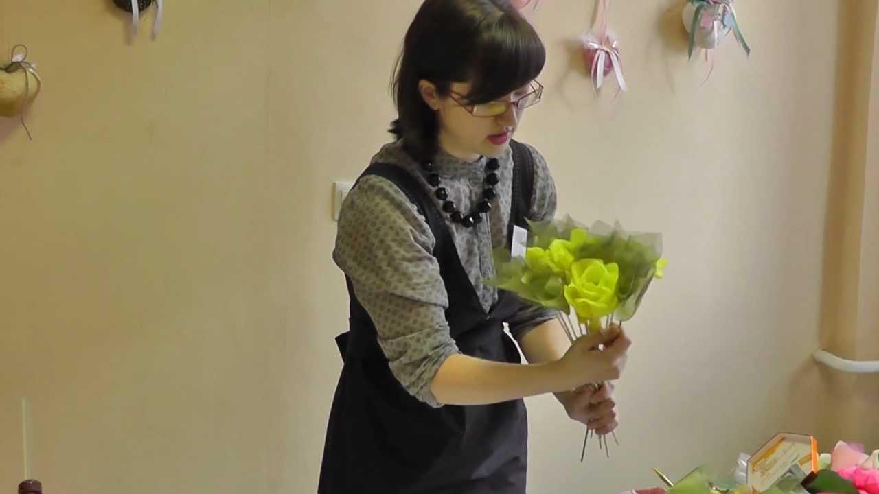 Букеты из цветов своими руками пошагово
