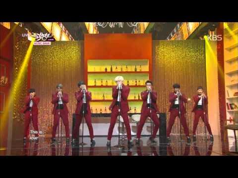[HIT] 뮤직뱅크-슈퍼주니어(Super Junior) - This Is Love + 백일몽(Evanesce).20141024