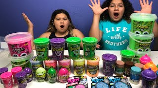 MIXING ALL OUR STORE BOUGHT SLIMES - GIANT SLIME SMOOTHIE