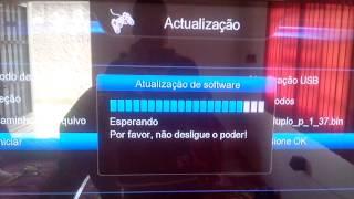 Como Fazer Atualização Do Tocomsat Duplo HD +
