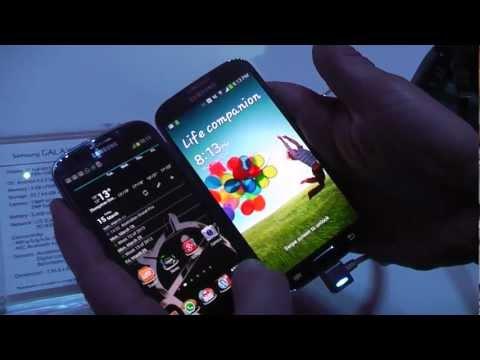 Samsung Galaxy S4 vs. Samsung Galaxy S3 - Quick comparison