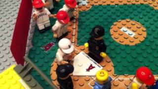 Oyo Baseball -  Lego Minifigures vs. Los Angeles Angels - Intro