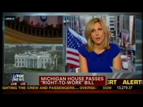 Mark Mix on Fox News: Michigan Becomes 24th Right to Work State