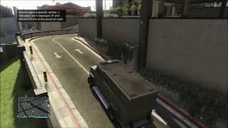 GTA V Online Armored Truck Police Riot LOCATION