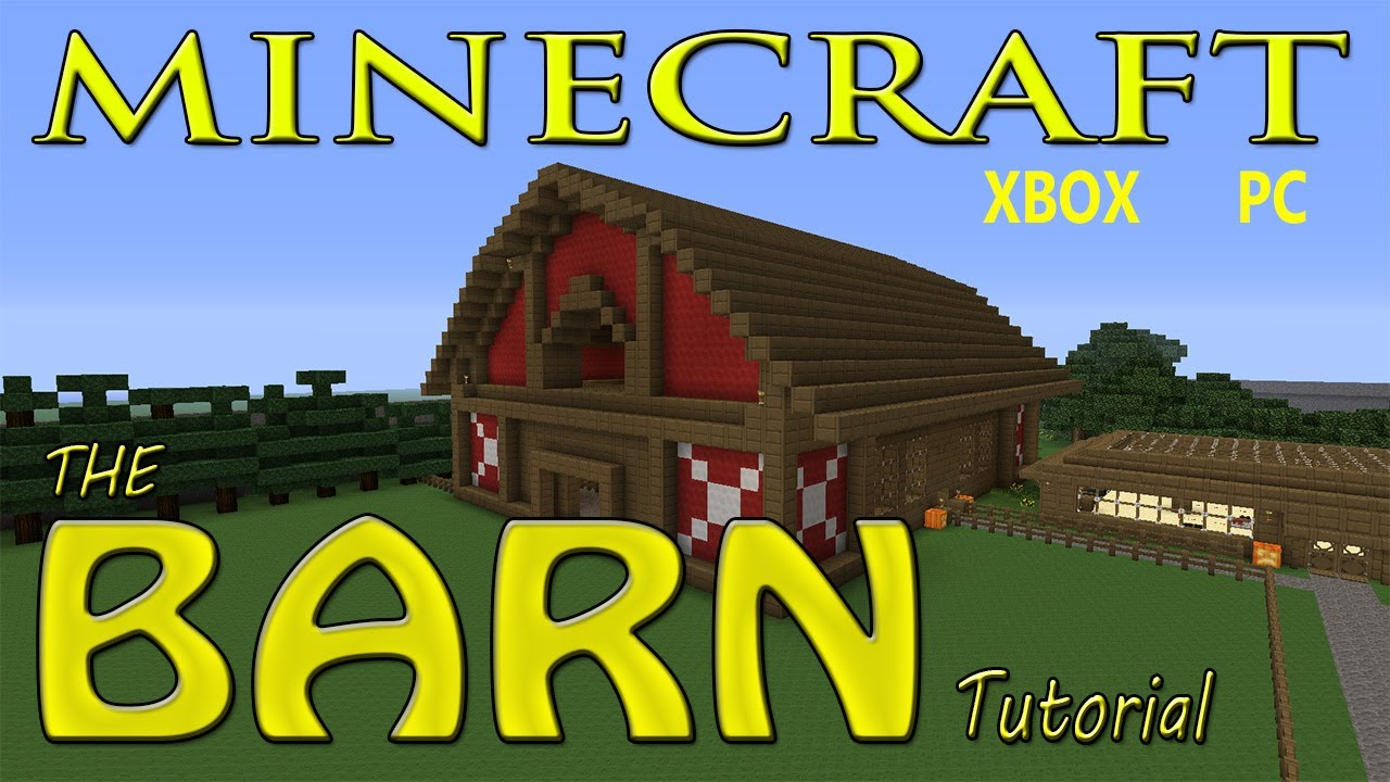 Easy Animal Barns To Build In Survival Minecraft