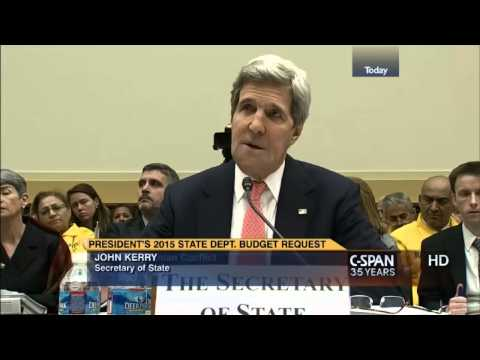 The Beast : Kerry says It's 'A Mistake' to push 'Jewish State' as Condition for Peace (Mar 14, 2014)