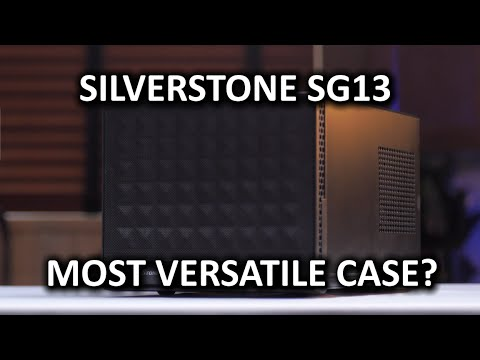 SilverStone SG13 Computer Case - Small form factor…