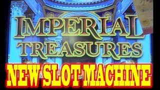 Imperial Treasures NEW SLOT MACHINE WIN Las Vegas Slots Winner