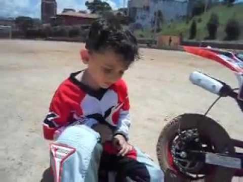 Trilha de Moto Infantil...moto cross