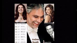 U.S. Concert Tour with Andrea Bocelli - December 2016
