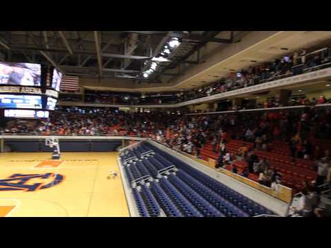 IRON BOWL 2013: Chris Davis' last play reactions at Auburn Arena
