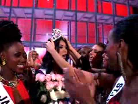 Miss Universe 2007 Crowning Backstage Reaction Miss Japan