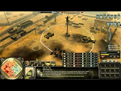 Let's Play Company Of Heroes 2 - American Armored Warfare At City 17
