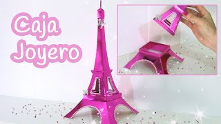 Manualidades - joyero Torre Eiffel