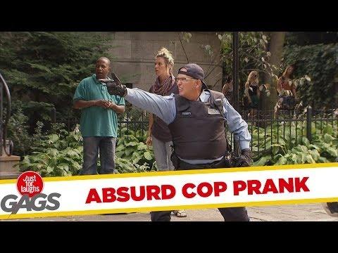 Absurd Sharpshooting Cop Prank