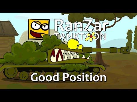 Tanktoon - Dobrá pozícia