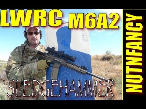 Sledgehammer Drill:  LWRC M6A2 by Nutnfancy