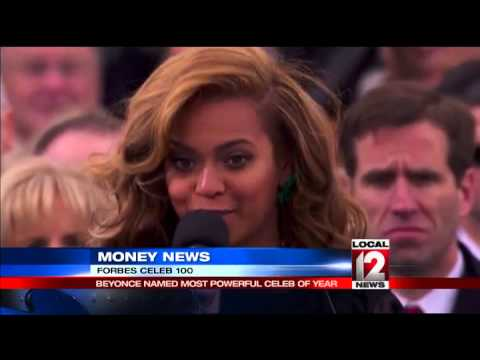 Beyonce is Forbes' most powerful celebrity
