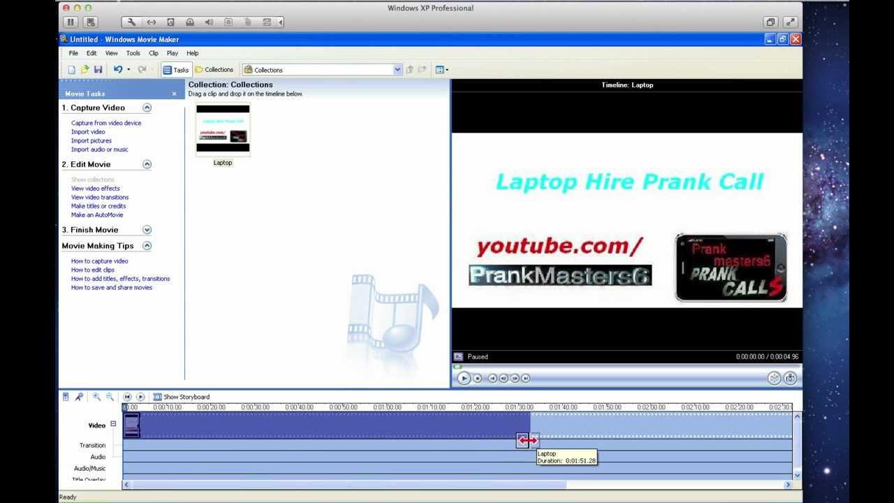 Windows Movie Maker Video Editing Tutorial HD - YouTube