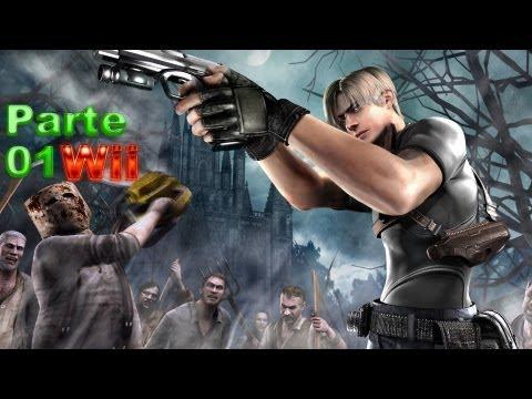 Resident Evil 4 - parte 01 é no Nintendo Wii