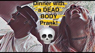 WE'RE EATING DINNER WITH MLKS DEAD BODY!! -UBER PRANK